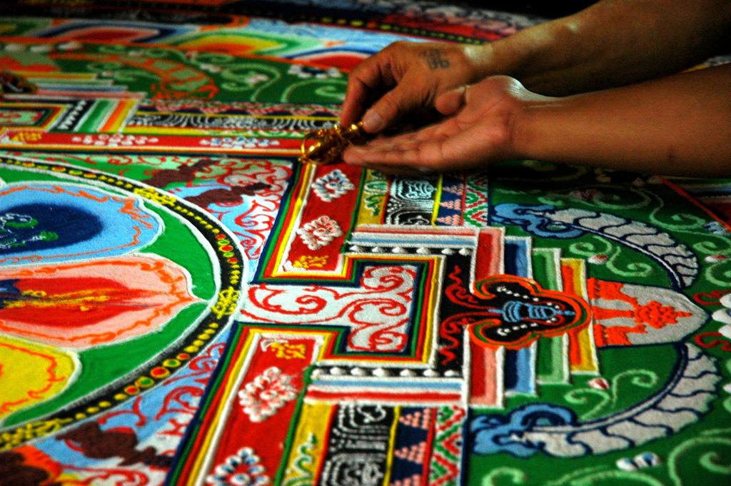 Maľovanie mandaly