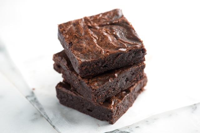 Čokoládové brownies scvikľou
