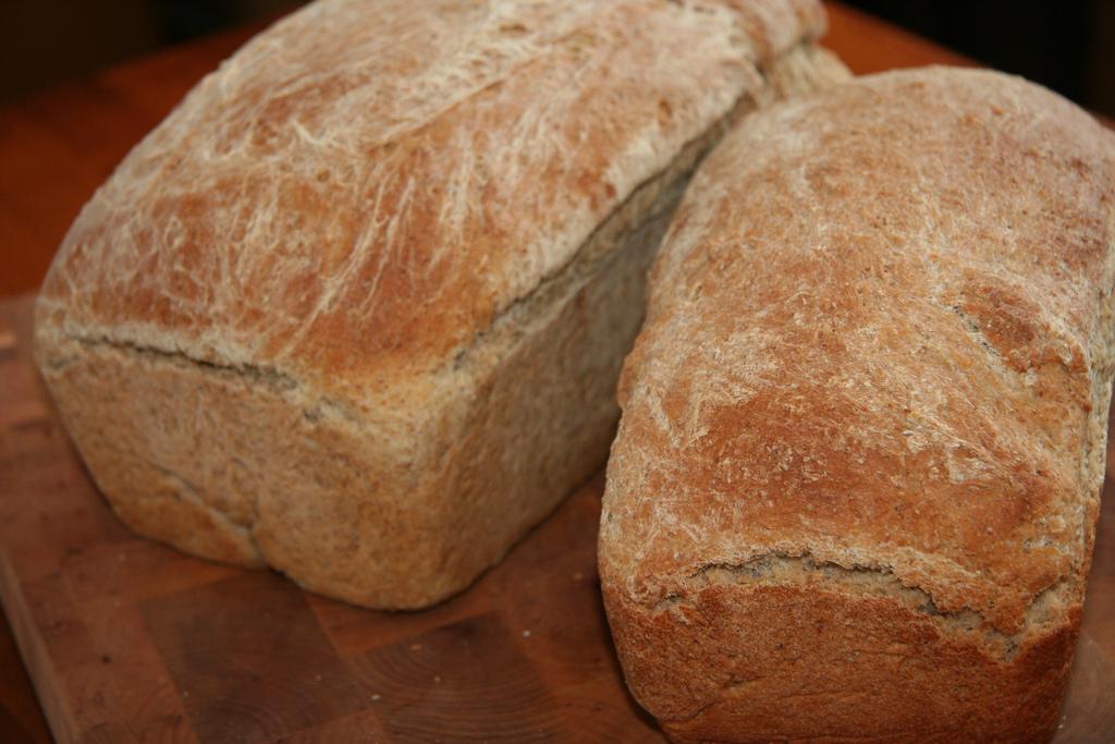 Kváskový ražný chlieb