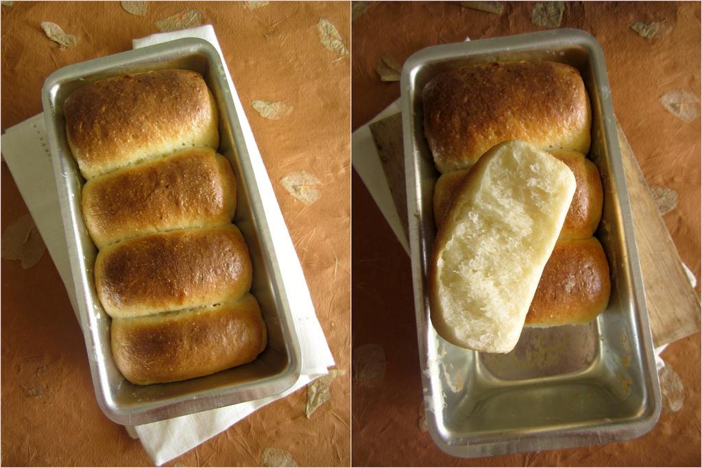 Kváskový japonský chlieb hokkaidó s tangzhongom